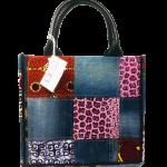 L.E CREATIONS - Tote Bag Bogolan Moyen - Multicolore