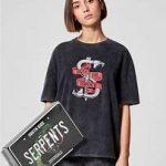 JENNYFER - T-shirt Riverdale Riverdale South Side Serpents - Noir